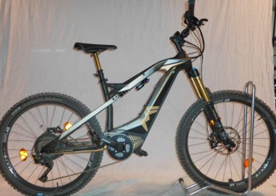"(Nr. 9) M1 Spitzing Evolution ""Bobby Root Edition"" hier als Testbike"